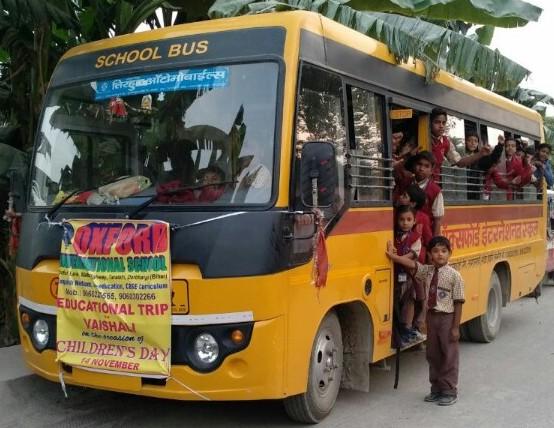 transport facility schools in darbhanga